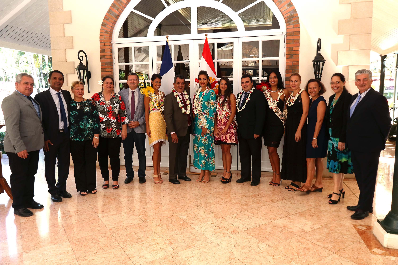 Hommage de la Polynésie française à Vaimalama Chaves